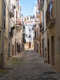 Characteristic alley of Conversano. Apulia. Stock Photography