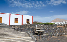 Characteristic architecture details on Canary Islands Royalty Free Stock Photo