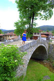 Characteristic architecture in Koprivshtitsa Royalty Free Stock Image