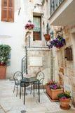 Characteristic building in Polignano a mare, Apulia, Italy Stock Photo