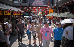 Characteristic chinese shopping street Stock Image