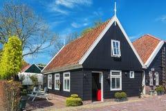 Characteristic dom w wiosce De Woude obraz royalty free