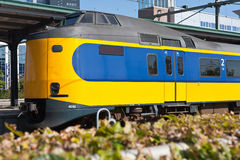 Characteristic Dutch train Stock Images