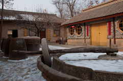 Characteristic dwellings in Xina China Stock Images