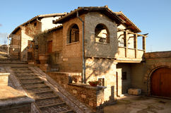 Characteristic house of Spello Royalty Free Stock Images