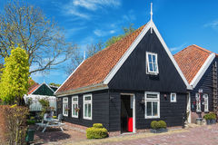 Characteristic house in the village De Woude Royalty Free Stock Image