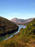 Characteristic of the Montenegrin mountain panorama Royalty Free Stock Photography