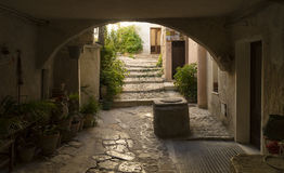 Characteristic part of Erice Stock Photography