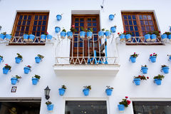 Characteristic street in the center of Benalmadena. Malaga, Andalusia Stock Photography