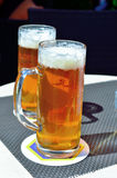 Characteristic Tyrolean beer Royalty Free Stock Photography
