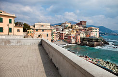 Characteristic view of Boccadasse Stock Photos