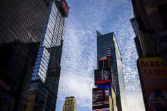 Characteristic view of Times Square Royalty Free Stock Photography