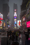 Characteristic view of Times Square Stock Photo