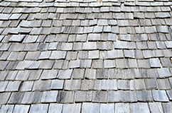 Characteristic wooden roof Royalty Free Stock Photos