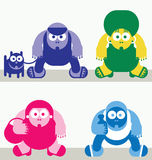 Characters Royalty Free Stock Image