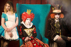 Characters of the Wonderland Royalty Free Stock Photography