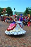 charakterów Disneyland czarodziejka Zdjęcie Stock