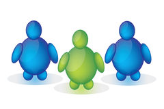 charakterów gel logo Zdjęcie Royalty Free