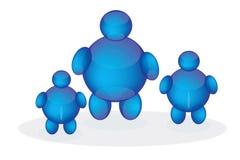 charakterów gel logo Obraz Royalty Free