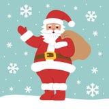 Charakter Święty Mikołaj Fotografia Stock