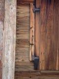 Charakter des Holzes stockbild