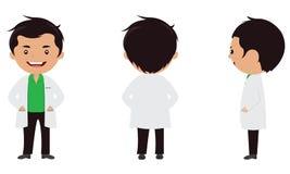 Charakter lekarka Obrazy Stock