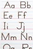 charakter pisma alfabet Obraz Stock