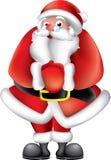 charakter Santa obrazy royalty free
