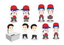Charaktere Stockfotografie