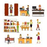 Charaktere in der Schule Auch im corel abgehobenen Betrag Stockfotos