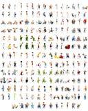 192 Charaktere eingestellt Stockbilder