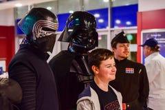 Charaktere von Star Wars lizenzfreie stockfotos