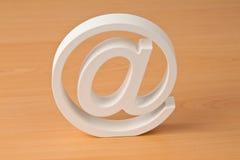 charakteru email Obrazy Stock