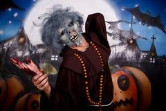 charakteru Halloween mężczyzna Zdjęcie Royalty Free