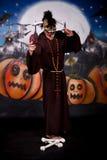 charakteru Halloween mężczyzna Zdjęcia Stock