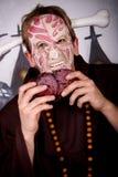 charakteru Halloween mężczyzna Obraz Royalty Free