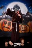 charakteru Halloween mężczyzna Obrazy Stock