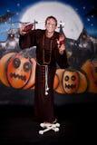 charakteru Halloween mężczyzna Fotografia Royalty Free
