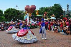 charakterów Disneyland czarodziejka Obrazy Royalty Free