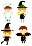 charaktery Halloween Fotografia Stock