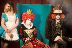 Charaktery kraina cudów Fotografia Royalty Free