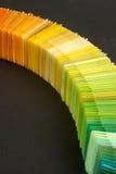 charakterystyczny kolor druku prasy przemysłu obrazu pre próbki Obrazy Stock