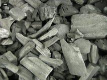 Charbon de bois Photographie stock libre de droits
