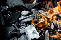 Charbon de bois photos stock