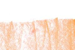 Charbon de bois coloré sur le fond de texture de livre blanc Photo libre de droits