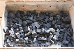 Charbon de bois de BBQ Image stock