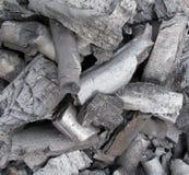 Charbon de charbon de bois Image stock