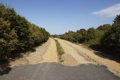 Charbon mou - autrefois autoroute A4 près de Merzenich Photos stock