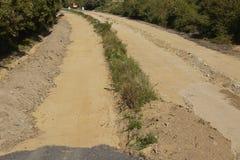 Charbon mou - autrefois autoroute A4 près de Merzenich Photographie stock libre de droits