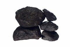 Charbon, pépite de carbone Image stock